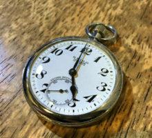 19セイコー懐中時計修理