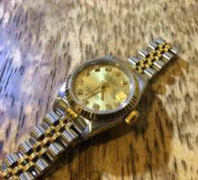 ROLEX ロレックス デイトジャスト レディース自動巻腕時計修理