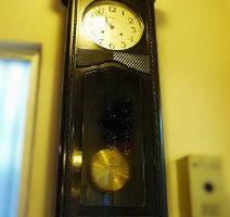meijiメイジ時計大型掛時計修理