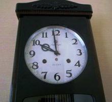 Aichiアイチ時計スーパーエイト30日巻掛時計修理