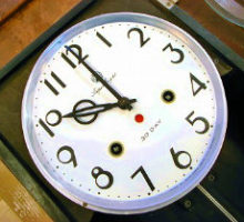Aichiアイチ時計スーパーエイ30日巻掛時計修理