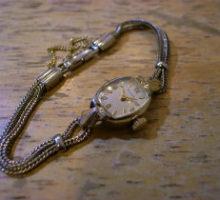 BULOVA ブローバ 手巻き レディース 腕時計 修理