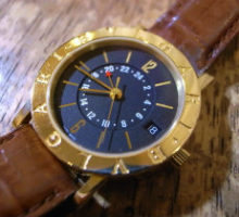 BVLGARIブルガリブルガリBB33SLGMTオートマチック腕時計修理