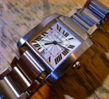CartierTANKカルティエ タンクフランセーズ自動巻腕時計オーバーホール