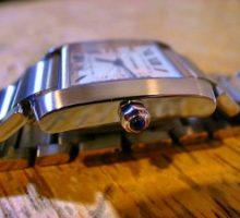 CartierTankカルティエタンクフランセーズ自動巻腕時計オーバーホール