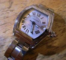 Cartierカルティエロードスター自動巻腕時のオーバーホール