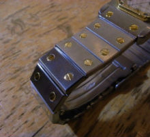 Cartierカルティエサントスオクタゴンブレス切れ修理分解掃除