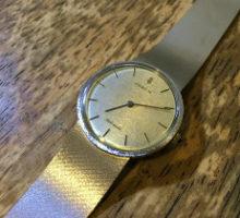 CORUMコルム自動巻き腕時計修理