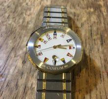 CORUM コルム アドミラルズカップ クォーツ メンズ腕時計修理