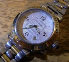 CartierカルティエパシャC自動巻腕時計修理