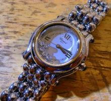 Choparadショパールハッピースポーツ腕時計オーバーホール