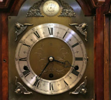 ELLIOTエリオットウエストミンスターチャイム置時計修理