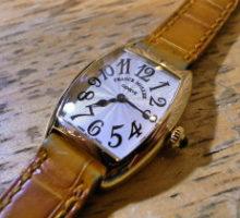 FRANCKMULLERフランクミュラートノー・カーベックスインターミディエ腕時計オーバーホール