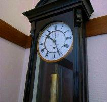 Gustav Becker グスタフベッカー ビエンナ分銅引き掛時計修理