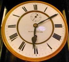 GustavBeckerグスタフベッカービエンナ分銅引き掛時計修理