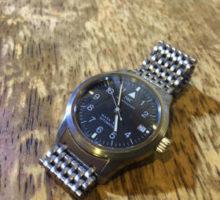 IWC マーク? オートマチック腕時計オーバーホール