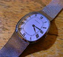 JUVENIAジュベニア手巻き式腕時計オーバーホール