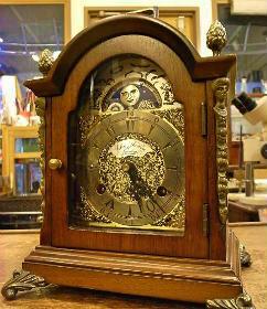 JohnThomasLondon月齢表示付小型置時計修理