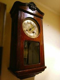 Kienzleキンツレ小型スリゲル掛時計修理