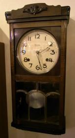 MEIJI メイジ時計 チャイム打ちゼンマイ式掛時計修理