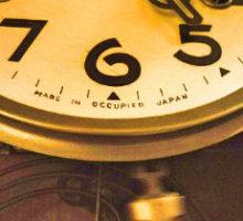 メイジ時計オキュパイドジャパン掛時計修理