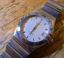 OMEGA オメガ コンステレーション クオーツ腕時計 オーバーホール