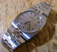 OMEGAConstellationオメガコンステレーション自動巻腕時計修理