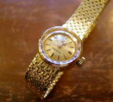 OMEGALadymaticオメガレディーマチック自動巻腕時計修理