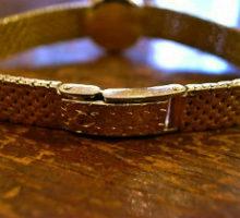 OMEGALadymaticオメガレディーマチック自動巻き腕時計修理