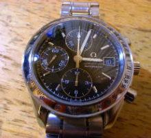オメガスピードマスターオートマチック腕時計修理