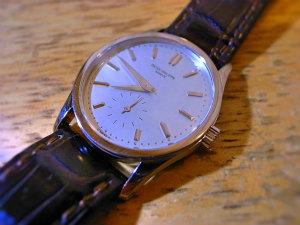 huge discount 9eea0 7e7ee PATEK PHILIPPE パテックフィリップ3796カラトラバ手巻き腕時計 ...