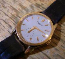 PATEKPHILIPPEパテックフィリップ3796手巻腕時計修理