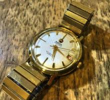 RADODATEMATICラドーデイトマチック自動巻き腕時計オーバーホール
