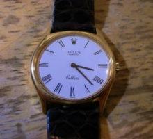 ROLEXChelliniロレックスチェリーニ手巻腕時計修理