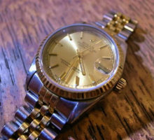 ROLEXDATEJUSTロレックスデイトジャスト16233腕時計修理