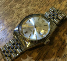 ROLEX ロレックス デイトジャスト1601の腕時計修理