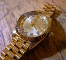 ROLEXロレックスデイトジャストレディース腕時計修理