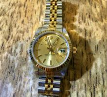 ROLEX ロレックス デイトジャスト レディース自動巻き腕時計修理