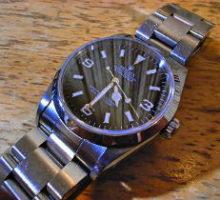 ROLEXロレックスエクスプローラーI自動巻腕時計オーバーホール