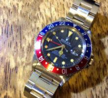 ROLEX ロレックス GMTマスター 1675 腕時計 オーバーホール