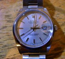 ROLEXロレックスオイスターパーペチュアルデイトジャスト腕時計オーバーホール