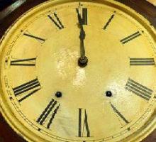 SETHTHOMASセストーマス八角掛時計修理とレストア