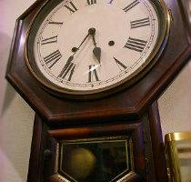 SETHTHOMASセストーマス八角掛時計修理