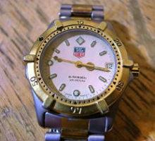 TAGHEUERAUTOMATIC200M自動巻き腕時計修理