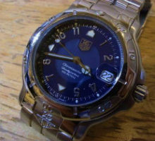 TAG HEUER タグホイヤー クロノメーターダイバー 腕時計修理