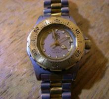 TAGHEUERタグホイヤープロフェッショナルダイバー3000腕時計修理