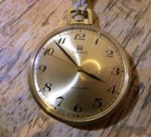 Tissot懐中時計オーバーホール