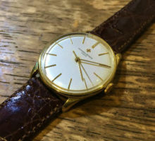 ヴァシュロン・コンスタンタン 手巻き腕時計オーバーホール