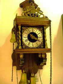 WUBAWARMINKワルミンク錘式掛時計修理
