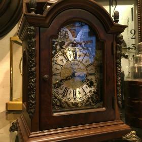 Warmikワルミンクゼンマイ式置時計修理
